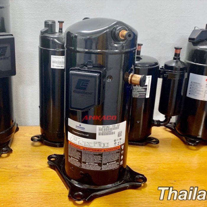 Máy nén lạnh Copeland 6HP ZR72KC-TFD-522 mới 100%, xuất xứ Thái Lan